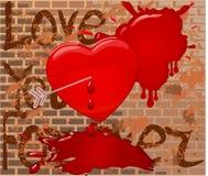 Grunge background, vector illustration Stock Photo