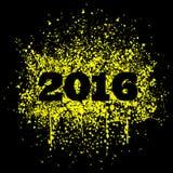 Grunge background 2016. Grunge background 2014, vector illustration royalty free illustration