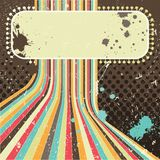 Grunge background. A vintage poster. Royalty Free Stock Photos