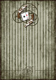 Grunge background with vintage vignette. Striped grunge background with vintage vignette Stock Images