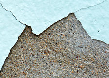 Grunge background wall cracked paint Royalty Free Stock Images