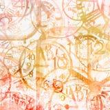 Grunge background . Watches. Time. Grunge pastel  background . Watches. Time Royalty Free Stock Photography