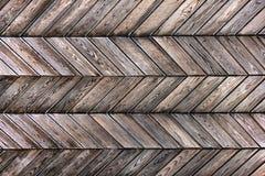 Grunge background of wooden planks herringbone royalty free stock photography