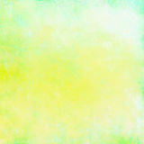 Grunge background in yellow and green colors Royalty Free Stock Image