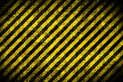Grunge background, yellow stripes Royalty Free Stock Image