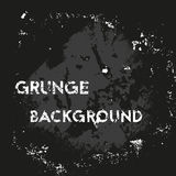 Grunge background for your text. Grunge dark background for your text. Vector illustration stock illustration