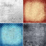 Grunge backgrounds with circles Royalty Free Stock Image