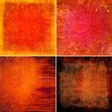 Grunge backgrounds. Set of grunge backgrounds, illustration vector illustration