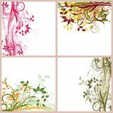 Grunge backgrounds, vector Royalty Free Stock Photos