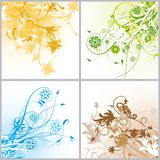Grunge backgrounds, vector Stock Image