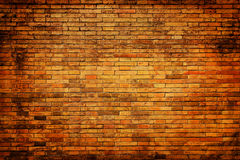 Grunge, Backsteinmauer Stockbild
