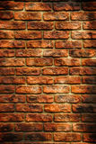 Grunge Backsteinmauerbeschaffenheit Stockfotografie