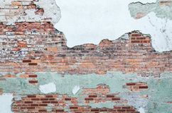 Grunge Backsteinmauerhintergrund Stockbild