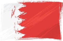 Grunge Bahrain flag Royalty Free Stock Photography