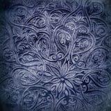 Grunge bakgrund med orientaliska prydnadar Arkivfoton