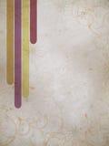 Grunge bakgrundstextur med band Arkivbilder