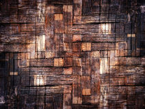 The grunge bamboo texture background Stock Photos