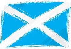 grunge bandery Scotland Fotografia Royalty Free