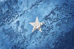 grunge bandery, Somalia Somalia flaga z grunge teksturą Fotografia Stock