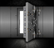 Grunge bank vault Royalty Free Stock Images