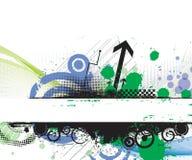 Grunge banner Royalty Free Stock Image