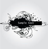 Grunge banner. Royalty Free Stock Photography