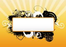 Grunge banner vector illustration