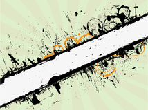 Grunge banner. Grunge retro banner for use in your designs Royalty Free Stock Images