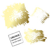 Grunge banner. Abstract vector template. Stock Images