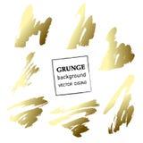 Grunge banner. Abstract vector template. Stock Photos
