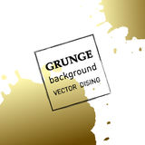 Grunge banner. Abstract vector template. Royalty Free Stock Photos