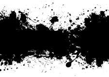 Grunge banner black Royalty Free Stock Image
