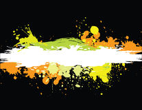Grunge banner colorful Stock Image
