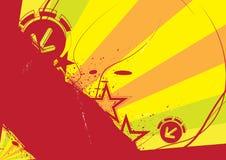 Grunge banner design Stock Image