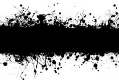Grunge banner ink Royalty Free Stock Images
