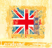 Grunge banner with London Stock Photography