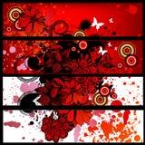 Grunge banner set royalty free stock image