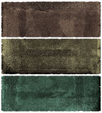 Grunge banner set vector illustration