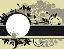 Grunge banner in vector Stock Photos