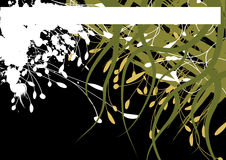 Grunge banner vector. Abstract background with light design elements stock illustration