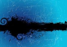 Grunge banner vector stock illustration
