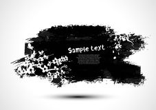 Grunge banner Royalty Free Stock Photography