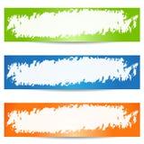 Grunge banner Stock Photo