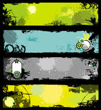 Grunge banners 2 Royalty Free Stock Photos