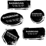 Grunge banners Royalty Free Stock Photo
