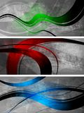 Grunge banners collection Royalty Free Stock Photography