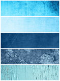 Grunge Banners Collection Stock Images