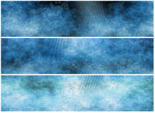 Grunge Banners or Headers Royalty Free Stock Photography