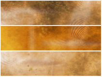 Grunge Banners or Headers Royalty Free Stock Images