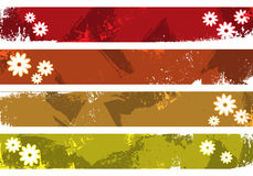 Grunge banners place your text here Royalty Free Stock Photo